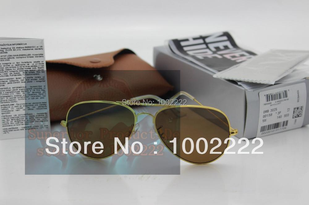 Best quality sunglasses,super brand RAY glasses lens 58mm for men brand sunglasses ,rb3025 mirror fashion unisex eyewears(China (Mainland))