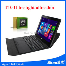 "New Style Windows 8.1 10.1"" Tablet PC Quad Core 1.33GHz Intel Z3735D 2G+64G Dual Camera 2.0+2.0M WIFI HDMI With keyboard"