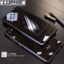 For Lenovo ZUK Z2 5.0 '' Original LUPHIE Brand Aluminum Metal Bumper Case Frame Cover Metal ZUK Z2 Phone Cases