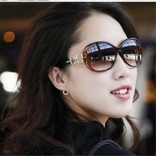 Fashion Vintage Round font b Sunglasses b font Women Brand Designer Retro Female Sun Glasses Feminine