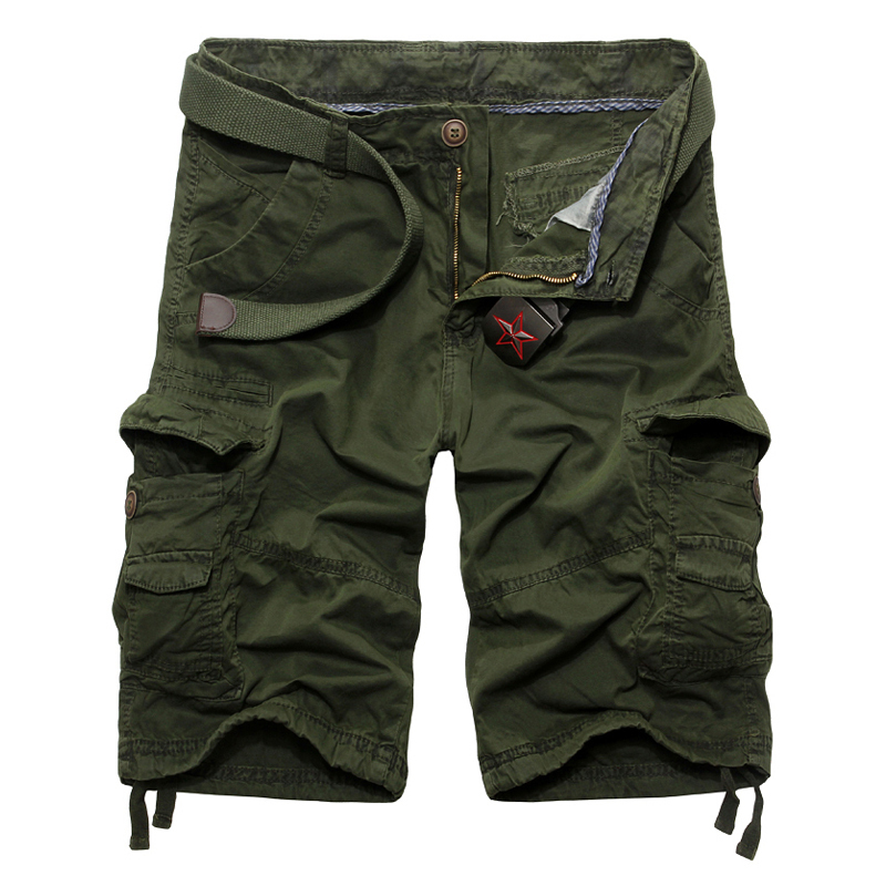 2015 new fashion casual mens shorts cargo 4 colors military big size 38 - Baby Angel World Co,Ltd store