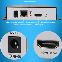 H.264 IPTV Encoder HDMI Video Encoder HDMI Encoder,Live Stream Broadcast, works with wowza, xtream codes,youtube...(China (Mainland))
