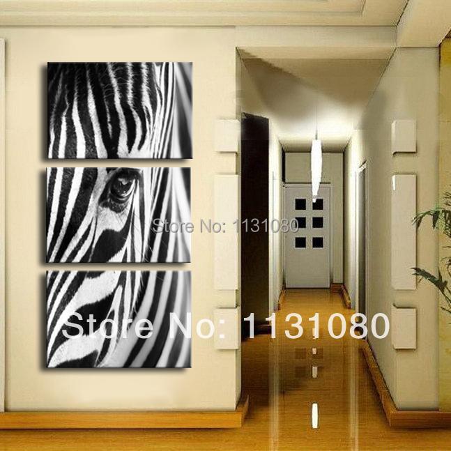 Decoracao Sala Zebra ~ decoracao sala zebrasó zebra animais da lona parede pintura de arte