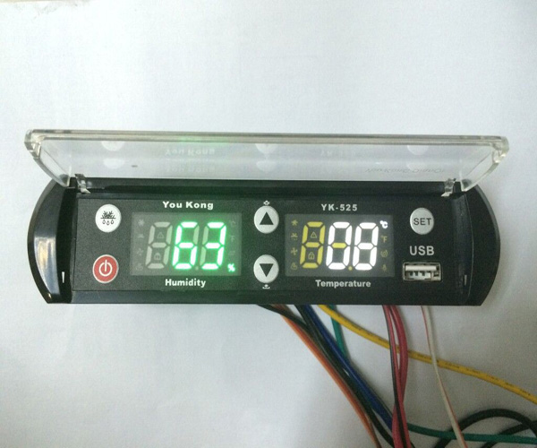 YK-525 temperature and humidity controller and data logger with USB(China (Mainland))