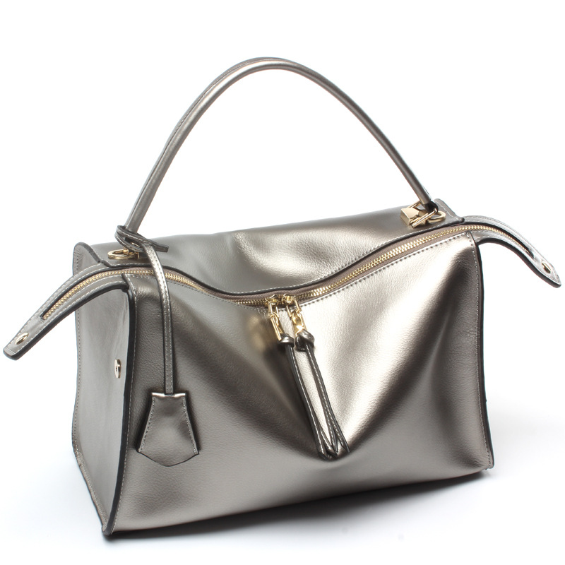 Luxury Soft Genuine Leather Lady Satchel Tote Handbag Famous Designer Brand Women Leather messenger bag Fashion Purse A8G165(China (Mainland))