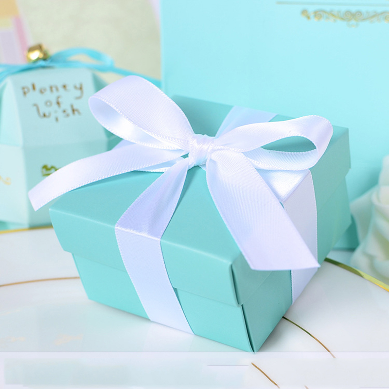 Wedding Gift Box Tiffany Blue : 30PCS Tiffany Blue Wedding Candy Box Wedding Favor Boxes Tiffany Blue ...