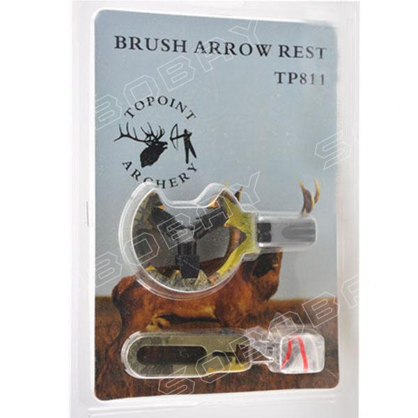 Brush Hostage Compound Bow and Recurve Bow Arrow Rest For Hunting to Fixing Arrow Camouflage Free