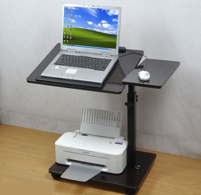 Laptop mount bedside tables lounged computer desk bed desk can lift oversized load bearing(China (Mainland))