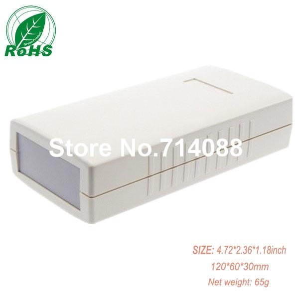Made in china plastic handheld enclosure /plastic enclosure /abs box 120*60*30mm 4.72*2.36*1.18inch(China (Mainland))