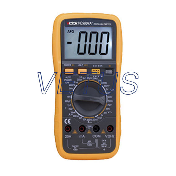 True RMS VC9804A+  3 1/2 best Digital Multimeter DMM With the temperature test<br><br>Aliexpress