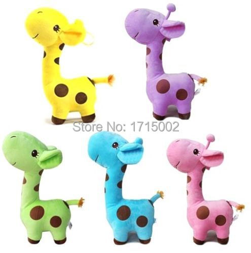 FD545 Baby Kid Plush Play Toy Birthday Wedding Animal Doll Gift Giraffe 1pc(China (Mainland))