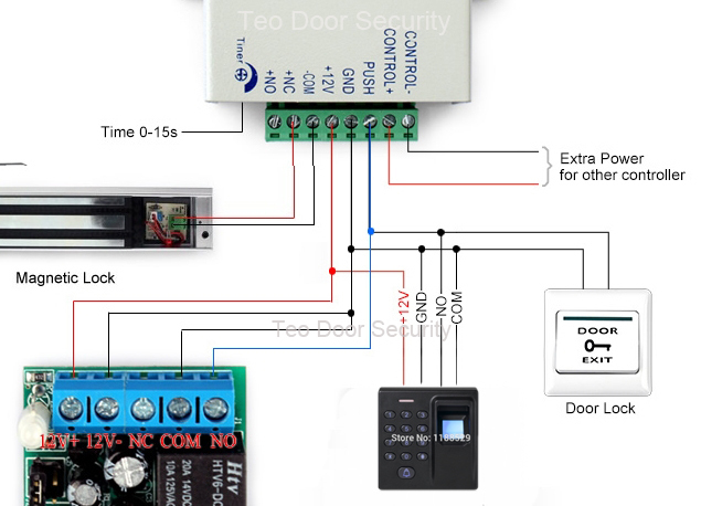 Wiring Diagram Access Control Device also Schemview likewise Access Control System as well Access Control Wiring Diagram as well How To Wire An Access Control Board Dx Series Part 1. on magnetic door lock wiring diagram