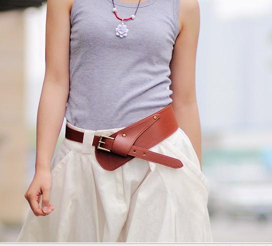 2015 Fashion Brand women belt cummerbunds Wide Leather Waist Belts For Women Elastic Female Wide Belt Stretch Wide Belt WB207(China (Mainland))