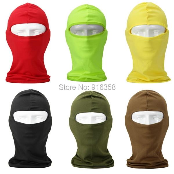 Outdoor Cycling UV Protection Full Face Mask Head Cover Ski Mask Speed Dry Balaclava Facekini Head Cover(China (Mainland))