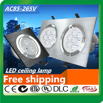 High quality Recessed 14W 10W 6W 3W LED Downlight Epistar LED Spot light AC85-265V LED Ceiling Lamp Warm white Cold white(China (Mainland))