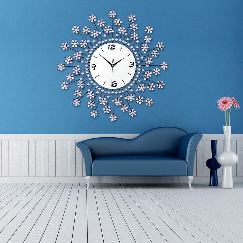 Large wall clocks for living room for Modern living room clocks