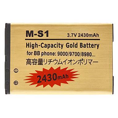 Battery for Blackberry 8980 9000 9700 9780 990 (3.7V, 2430mAh)(China (Mainland))