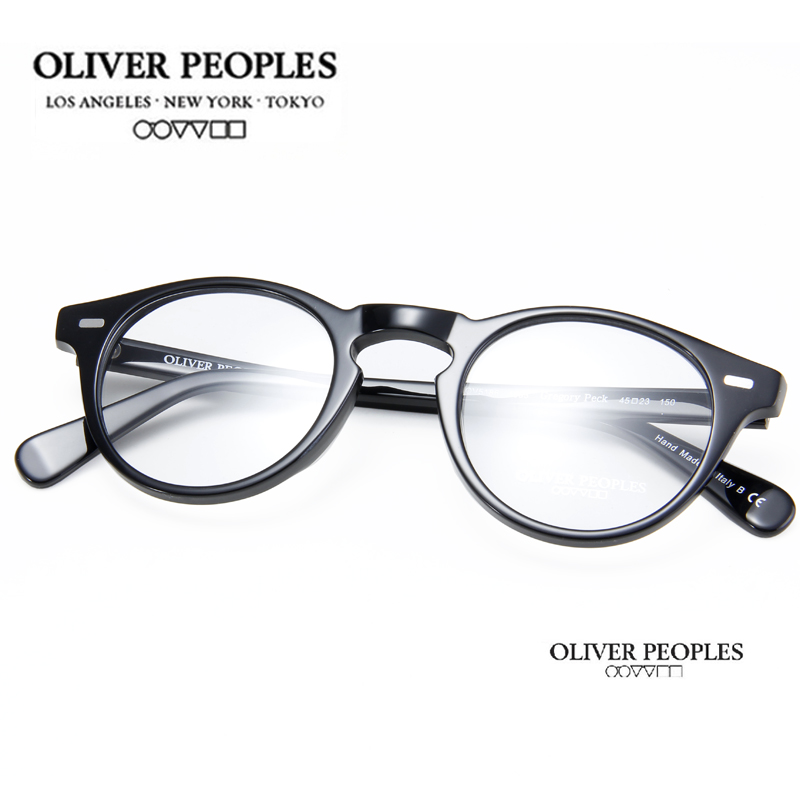 Freeshipping Vintage Optical Glasses Frame Brand Oliver Peoples Peck ov 5186 Gregory Eyeglasses for Women and Men Eyewear FramesОдежда и ак�е��уары<br><br><br>Aliexpress