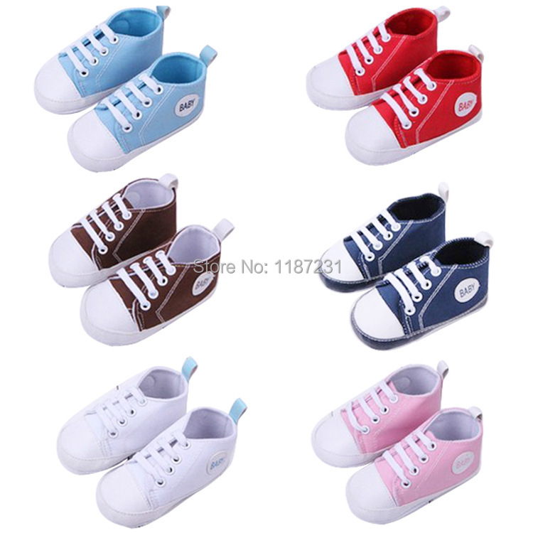 1 Pair Boy Girl Sports Shoes First Walkers Kids Children Shoes Sneakers Sapatos Baby Infantil Bebe Soft Bottom Prewalker Boots(China (Mainland))