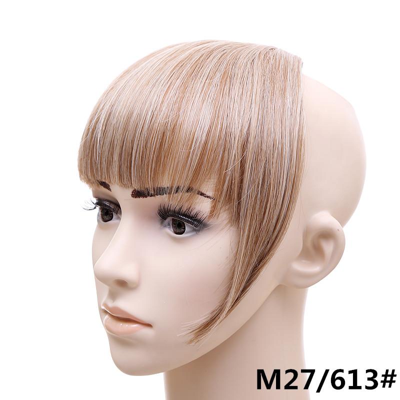 Jeedou короткий передний аккуратный челка клип короткая заколка для волос прямые 27613.2_