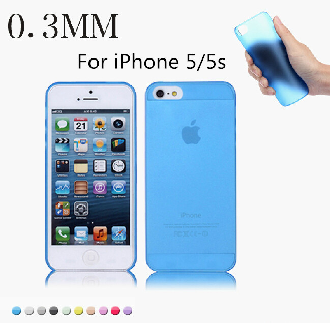 2015 Ultra Thin 0.3mm for iphone 5 5s case Transparent Cell Protective Perfect fit the Phone cases Back Cover(China (Mainland))