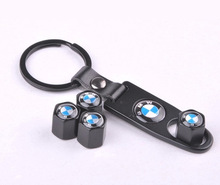 Hot Free Shipping Car Covers Tpms M Power Car Wheel Type Tire Air Valve Caps for Bmw 1 3 5 6 7 Wrench Key Chains Ring Keychain(China (Mainland))
