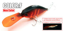 Only for promotion, no benifit fishing lure  crank 65mm&16g   dive 2.5-3.2m