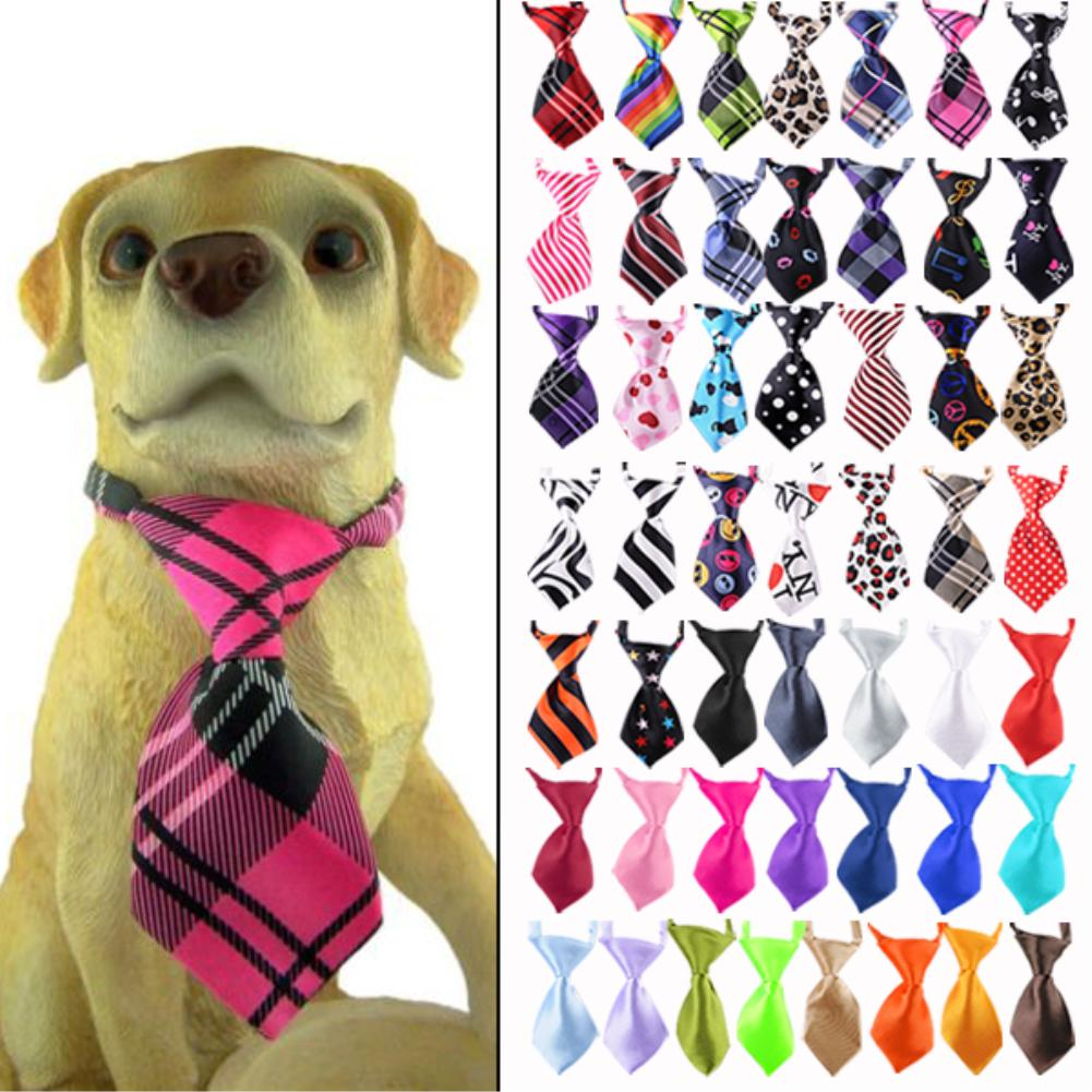 Free Shipping New Adjustable Pet dog cat die pet necklace collar bow tie dog accessories productsEQA458(China (Mainland))