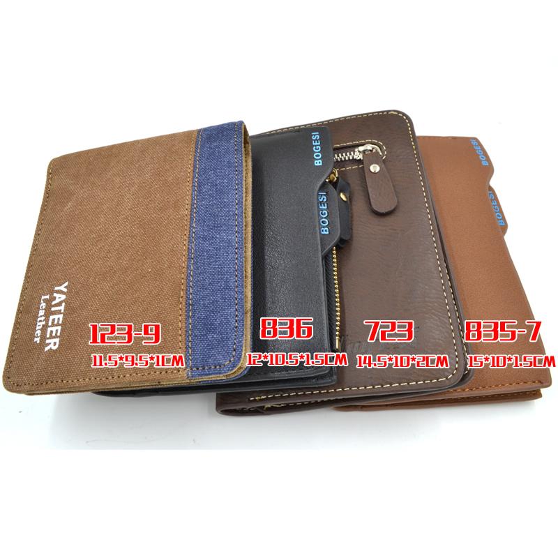 with Coin Bag zipper new 2015 men wallets famous brand mens wallet male money purses Wallets