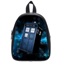 Hot Film Doctor Who Customized Design Personalized Stylish Backpack Bags Leather School Bag Backpacks For Boys And Girls(China (Mainland))