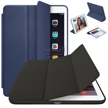 New 2016 Ultra Slim Cover for Apple iPad pro Smart Case 12.9 9.7 inch On the for ipadpro PU Leather Original Fundas Tablet Stand