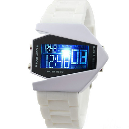 2015 New Fashion Super LED Display Digital Watches Mens Women Sports Military Oversized Watch Wristwatches Hot Sale(China (Mainland))
