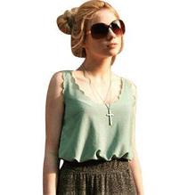 Fashion Women Blouses Elegant Short Sleeve O-neck Solid Color Chiffon Blouses Casual Shirts Women Tops Blusas camisa feminina