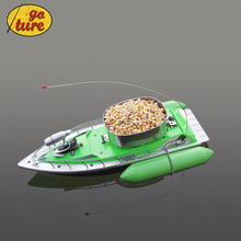 Goture 2015 Mini RC Remote Control Fishing Bait Boat 200M Fish Finder 5 7 Hour  Green Color(China (Mainland))