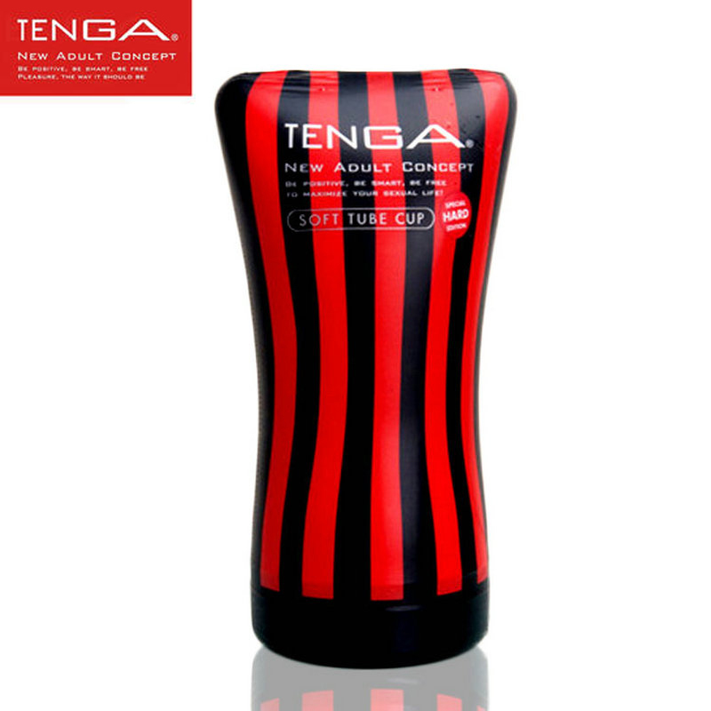 """TENGA Authentic Hard Soft Tube Cup TOC-102""""Hard Edition"""" Simulated Vaginal Sex Cup Masturbators Soft Balsam Sex Toys For Man(China (Mainland))"""
