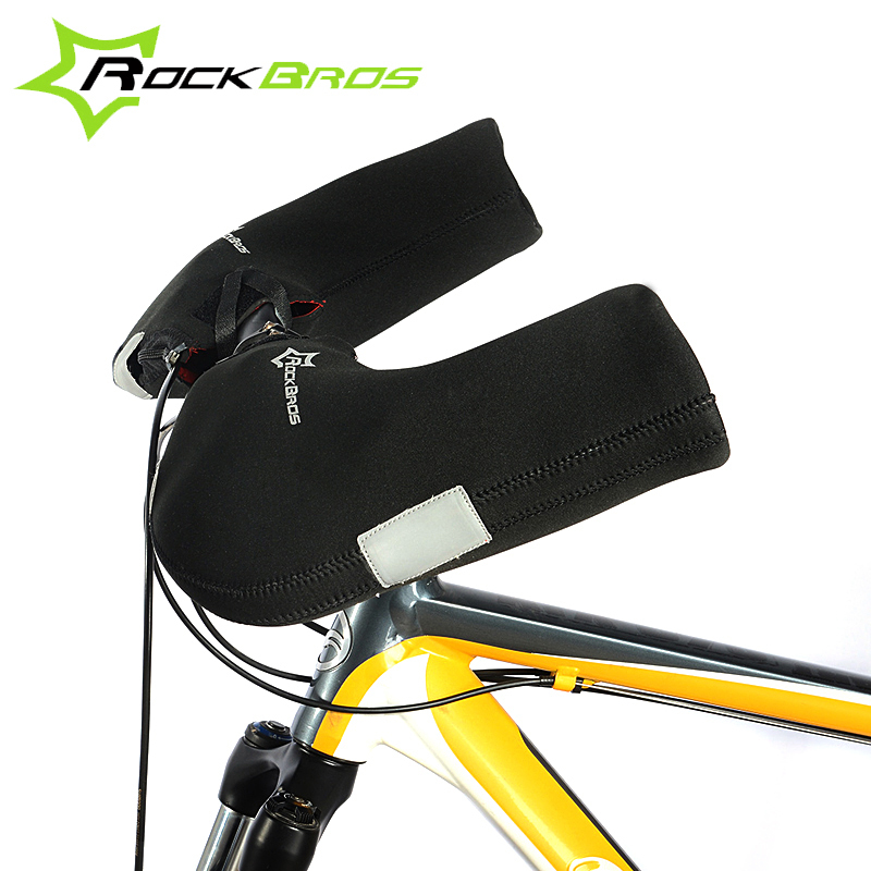 ROCKBROS Warm Winter Unisex Waterproof Cycling Gloves MTB/Road Bicycle Bike Hands Protector Windproof Covers Handlebar Gloves(China (Mainland))
