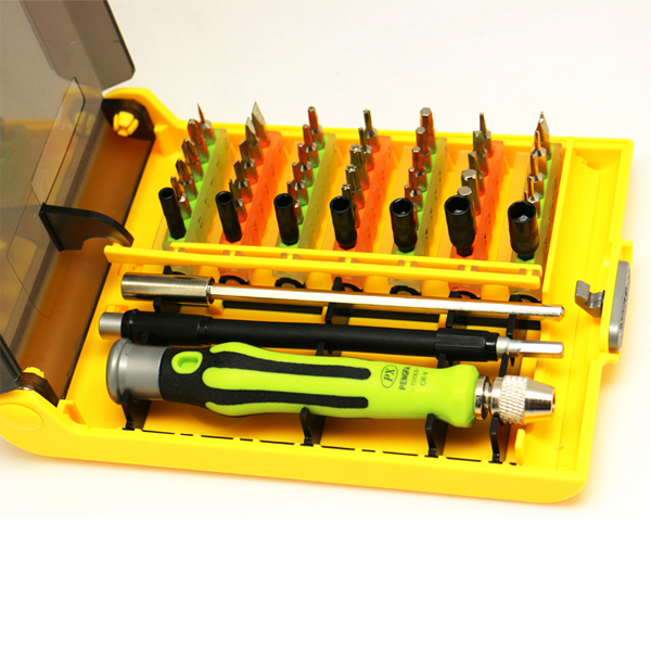 Sourcingbay 45 in 1 Precision Screwdriver Tools Set for Rc Pc Mobile Car Shipping From USA or China(China (Mainland))