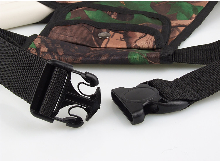 2016 Special Offer New Arrival Archery 4 Tubes Accessorie Holder Hunting Camo bag Bow Arrow Belt