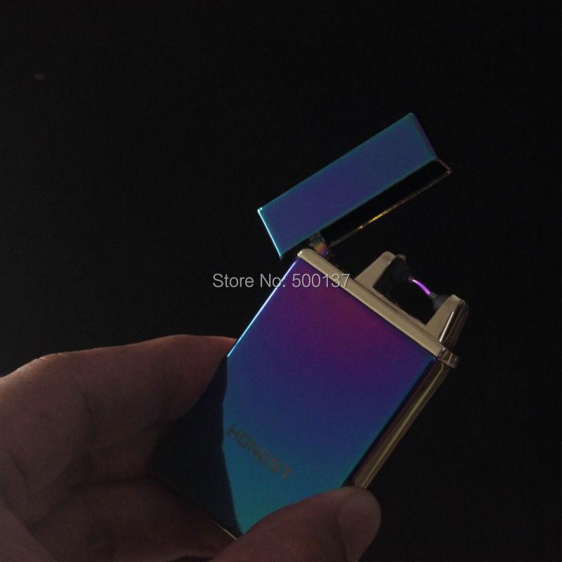 ถูก เทคโนโลยีใหม่เขย่าแกว่งไปแกว่งมาอาร์คไฟฟ้าเบาจุดระเบิดแบบชาร์จบุหรี่Windproofเบา