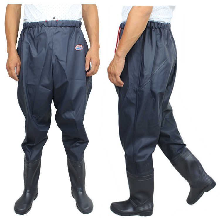 Fishing waders waterproof fishing trousers wader blue fishing pants boots for breathable rubber boots waist wader<br><br>Aliexpress