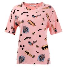 Buy T Shirt Women 2017 Fashion Summer Women T shirt Plus Size Tops Print Cartoon Batman Camisetas Femininas Tee Shirt Femme harajuku for $7.64 in AliExpress store