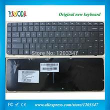 New Notebook Laptop keyboard for HP Compaq Presario CQ56 CQ62 Pavilion G56 G62 Black US Version - AEAX6U00310(China (Mainland))