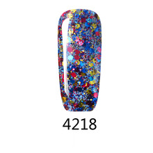 MSK 50 color Diamond Glitter Soak off UV Led Gel Nail Polish Nail art 5ml 4218(China (Mainland))