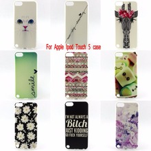 For Apple iPod Touch 5 Phone Case Thin soft TPU Fashion Painting Protective Cover for iPod Touch 5 Free Shipping