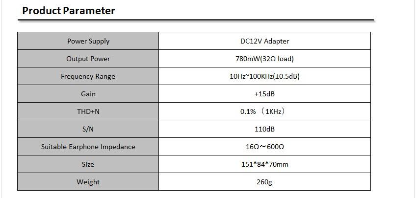 XDUOO TA-02 High Performance 6J1x 2 Stereo HiFi Headphone Tube Headphone Amplifier (Dual Tube AMP + Class A BUF)