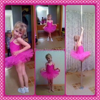 7 цветов розы балетное платье для детей марлевые гимнастика купальник для девочек детей платье классическая пачка купальники белый лебедь костюм
