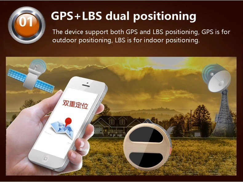 Personal Mini Micro LBS GPS Trackers Locator for Kids Children Pets Cat Dog Vehicle With Google Maps SOS Alarm GSM GPRS Tracker