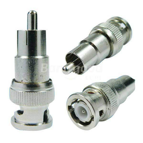 FairOaks BNC Male to RCA Male Coax Connector Adapter Plug Cable(China (Mainland))