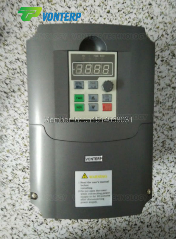 220v 4kw 1 phase input and 220v 3 phase output frequency converter/ ac motor drive/ ac drive/ VSD/ VFD/ 50HZ(China (Mainland))