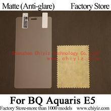 Matte Anti-glare Screen Protector Guard Cover protective Film Shield For BQ Aquaris E5 4G